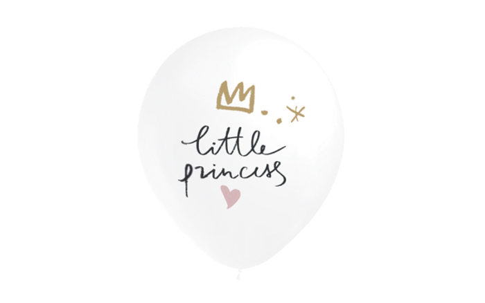 Pack 8 Globos Little Princess