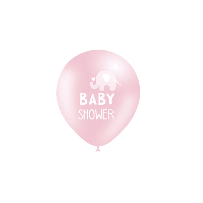 Globos Rosa Baby Shower